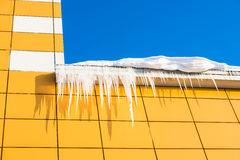 An icicle in the sun Royalty Free Stock Image