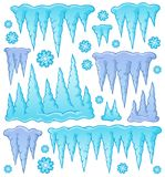 Icicle theme image 1 Stock Images