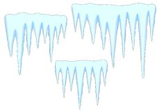 Icicles Royalty Free Stock Images