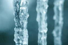 Icicles. 2 Royalty Free Stock Photography