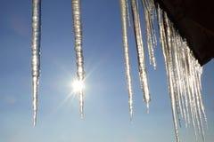2 icicles стоковые изображения rf