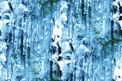 Icicles abstract Stock Photography