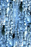 Icicles abstract Royalty Free Stock Photography