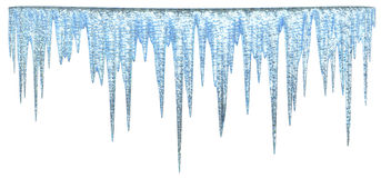 Icicles royalty free illustration