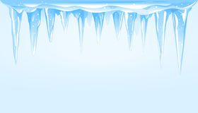 Free Icicles Cluster Background Illustration Stock Photography - 161335842