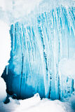 Icicles cold tone Royalty Free Stock Images