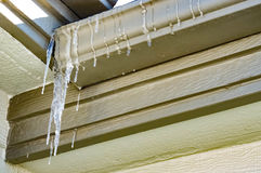 Icicles Final Stock Images