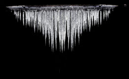 Icicles Gauss distribution Royalty Free Stock Photo