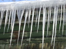 Icicles. Royalty Free Stock Photos
