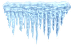 Icicles and ice Stock Photos