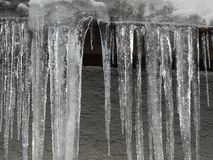Icicles icicle winter Stock Photography