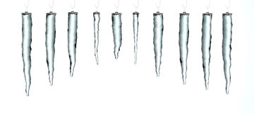 Christmas Icicles Royalty Free Stock Images