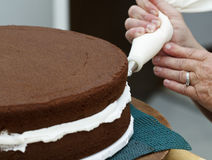 Icing the Cake Stock Images