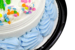 Icing on a Cake Stock Images