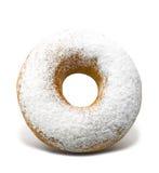 Icing Sugar Doughnut Stock Photo