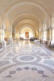 ICJ Corridoio principale del palazzo di pace, L'aia fotografie stock libere da diritti