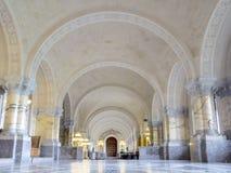 ICJ Corridoio principale del palazzo di pace, L'aia Immagini Stock Libere da Diritti