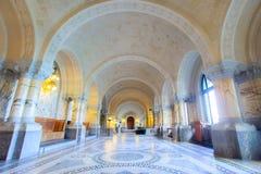 ICJ Hall principal du palais de paix, la Haye Photo libre de droits