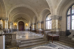 ICJ Main Hall of the Peace Palace, The Hague Royalty Free Stock Photography