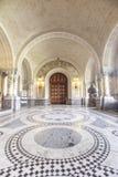 ICJ Main Hall of the Peace Palace, The Hague stock image