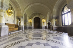 ICJ Main Hall of the Peace Palace, The Hague Royalty Free Stock Image