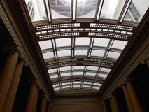 The Ickworth House Glass Ceiling: Above my Head stock photography