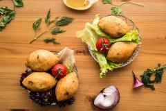 Icli kofte/γεμισμένο κεφτές falafel Στοκ Εικόνα