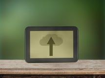 ICloud storage and cloud computing service concept Stock Photos