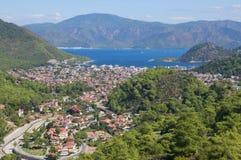 Icmeler La Turquie Vue supérieure Photos libres de droits