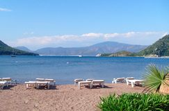 Icmeler Resort Turkey Stock Photo