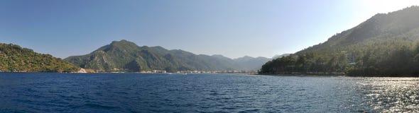 Icmeler, Turkey. A Panorama of Icmeler in Turkey Royalty Free Stock Photo