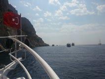 Icmeler Turkiet Arkivfoto