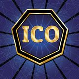 ICO et ensemble de marque Photos stock