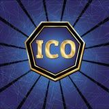 ICO et ensemble de marque Image stock