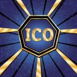 ICO i żetonu set Obraz Royalty Free