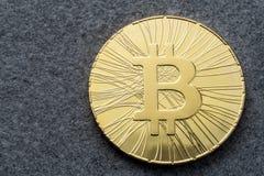 ICO - Pièce de monnaie initiale offrant à Bitcoin Digital l'argent binaire électronique concept financier 18 décembre, le bitcoin Image libre de droits