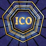 ICO und Zeichensatz Stockfotografie