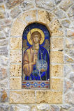 Icon. Mosaic details from orthodox church Royalty Free Stock Images