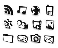 Icon 3d Stock Images