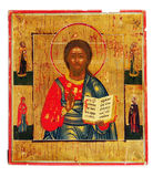Icon. Ancient church icon. One of attributes of religion Stock Images