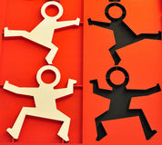 Icon of active people Stock Photo