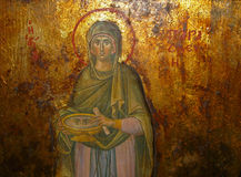 Icon of Agia Paraskevi, Greece Royalty Free Stock Images
