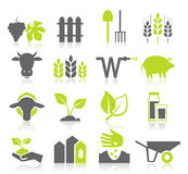 Icon agriculture royalty free stock images