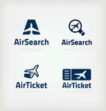 Icon Air Royalty Free Stock Photography