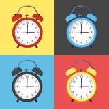 Icon of alarm clock Stock Images