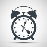 Icon alarm clock Royalty Free Stock Image