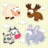 Icon animals vector Royalty Free Stock Image