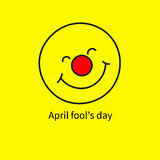 Icon april fool Stock Photos