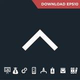 Arrows  icon Modern, simple flat  Stock Photos