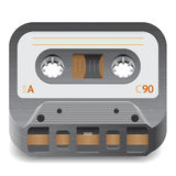 Icon for audio cassette Royalty Free Stock Photo